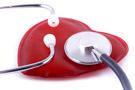 Herz mit Stethoskop
